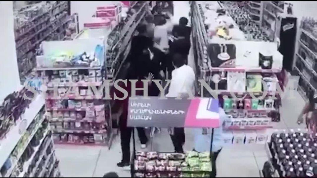 Երևանում ծեծի է ենթարկվում «Ծիրան» սուպերմարկետի անվտանգության պետը